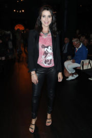 Michele Hicks Stills at Anna Sui Fashion Show at NYFW in New York