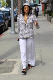 Michelle Rodriguez Out Shopping in Beverly Hills