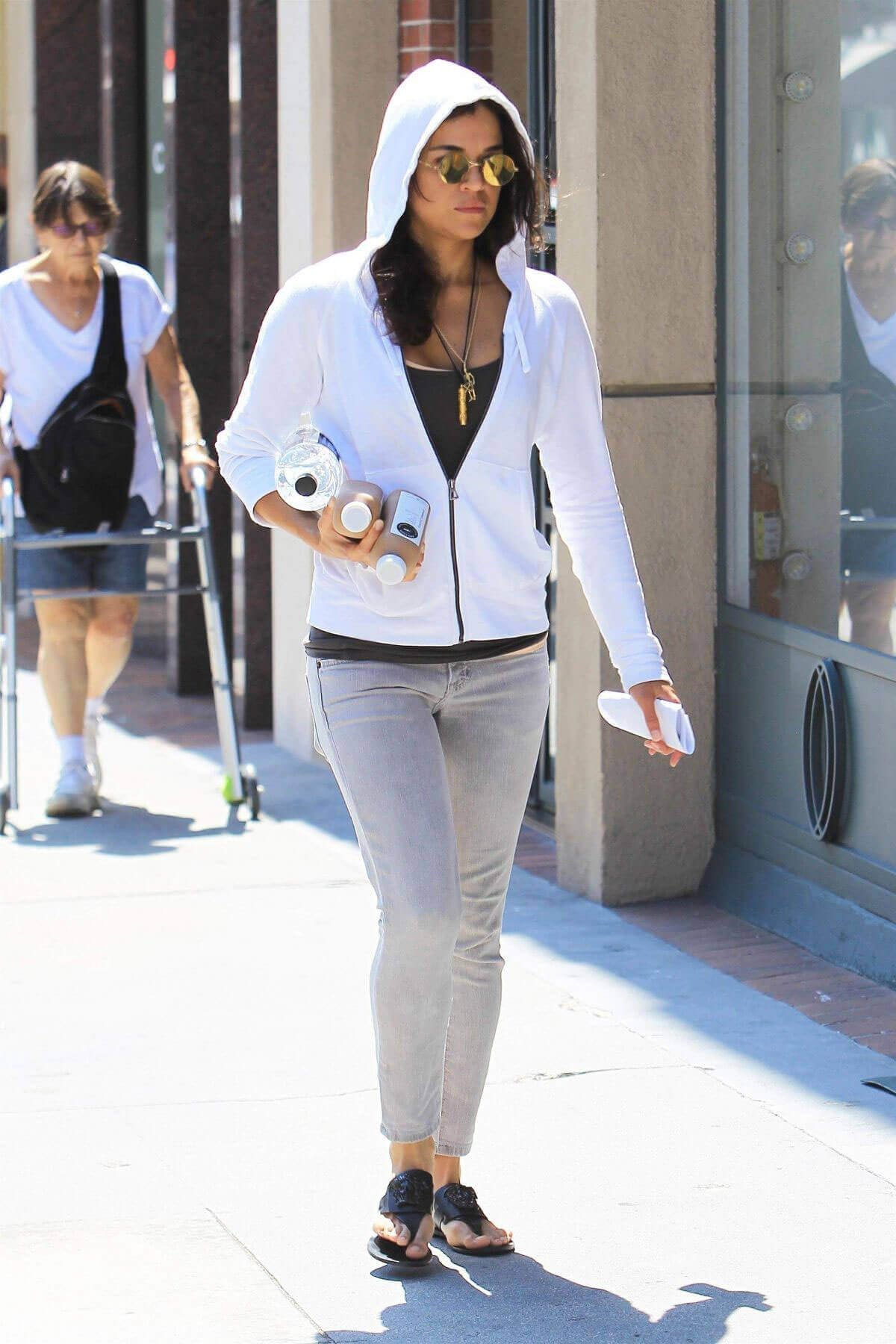 Michelle Rodriguez Stills Out and About in Beverly Hills