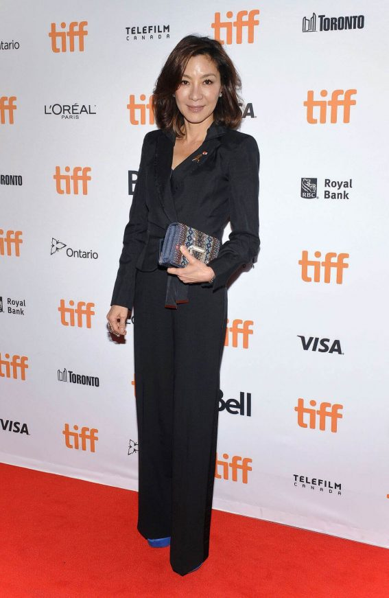 Michelle Yeoh at Brad's Status Premiere at Toronto International Film Festival