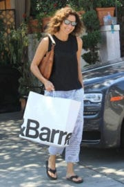 Minnie Driver Stills Out Shopping in Beverly Hills Photos