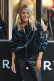 Mollie King Stills at Reserved Shop Opening in London