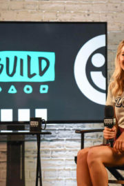 Mollie King Stills at the AOL Build in London