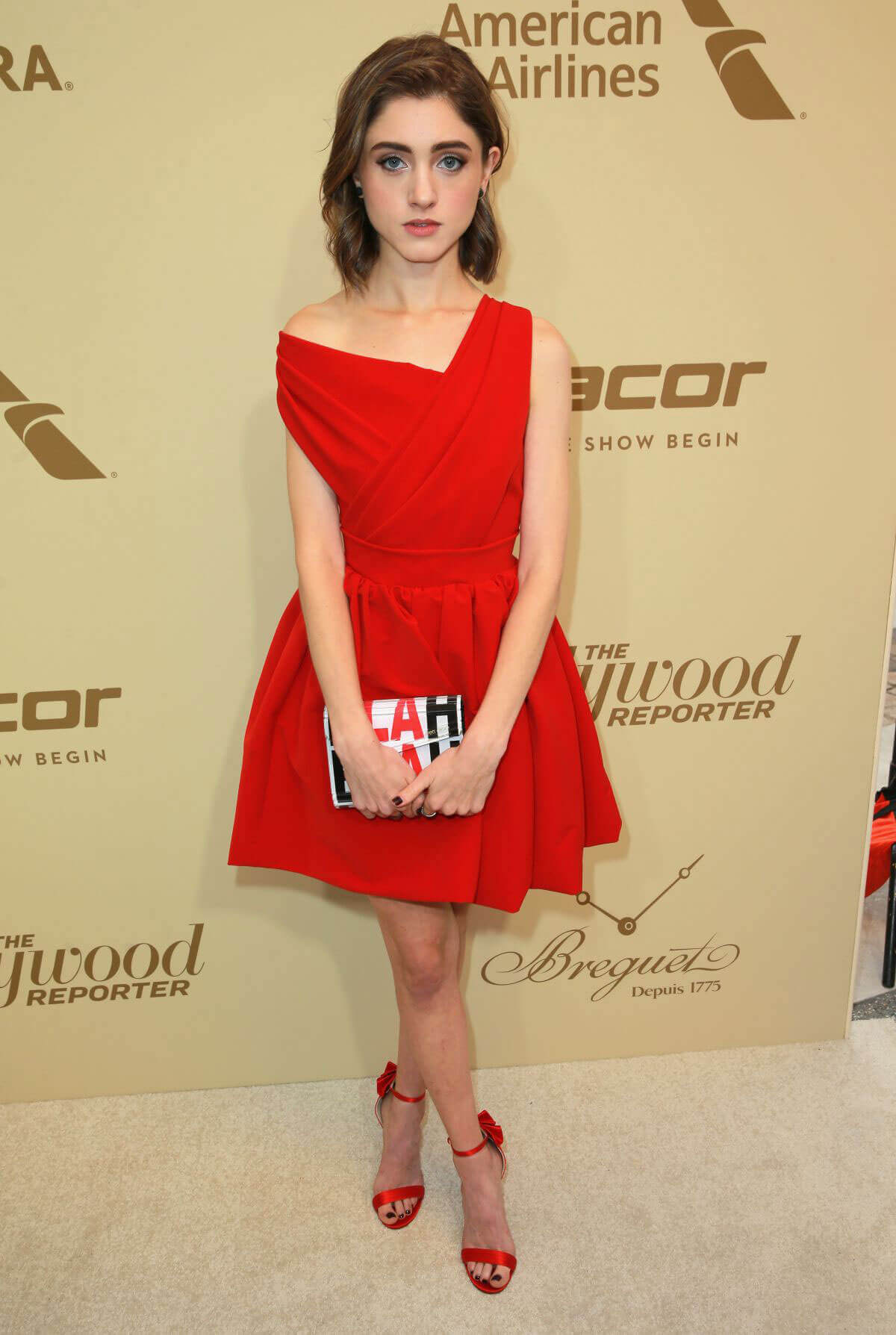 Natalia Dyer Stills at Hollywood Reporter and Sag-aftra Nominees Night in Beverly Hills