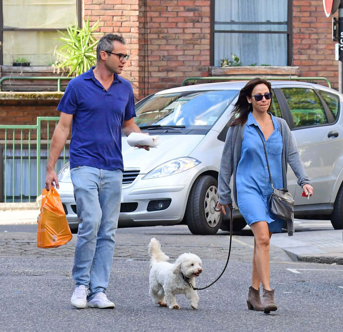 Natalie Imbruglia with Matt Field her Dong Stills Out in London