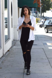 Nina Dobrev Stills Out and About in West Hollywood