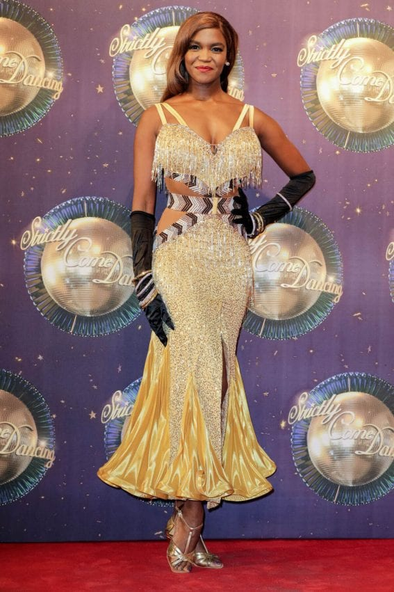 Otlile Mabuse Stills at Strictly Come Dancing 2017 Launch in London