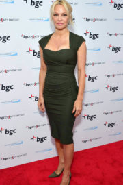 Pamela Anderson at BGC Charity Day in London