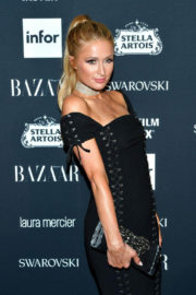 Paris and Nicky Hilton Stills at Harper's Bazaar Icons Party in New York