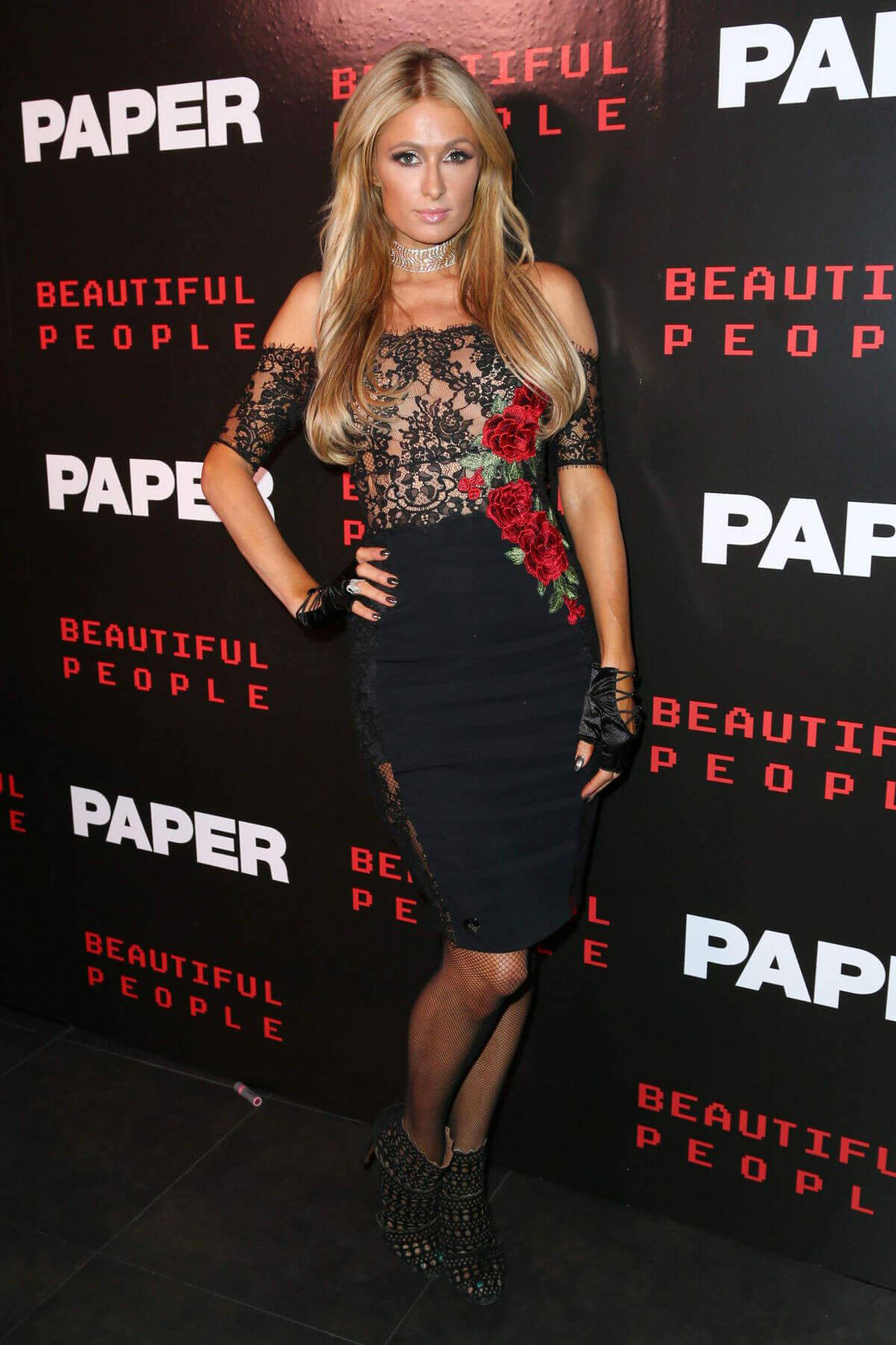 Paris Hilton Stills at Paper Magazine Beautiful People Issue Release Party in New York