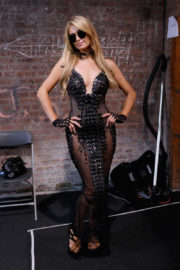 Paris Hilton Stills at The Blonds Fashion Show at NYFW in New York