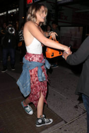 Paris Jackson Stills Night Out in New York Images