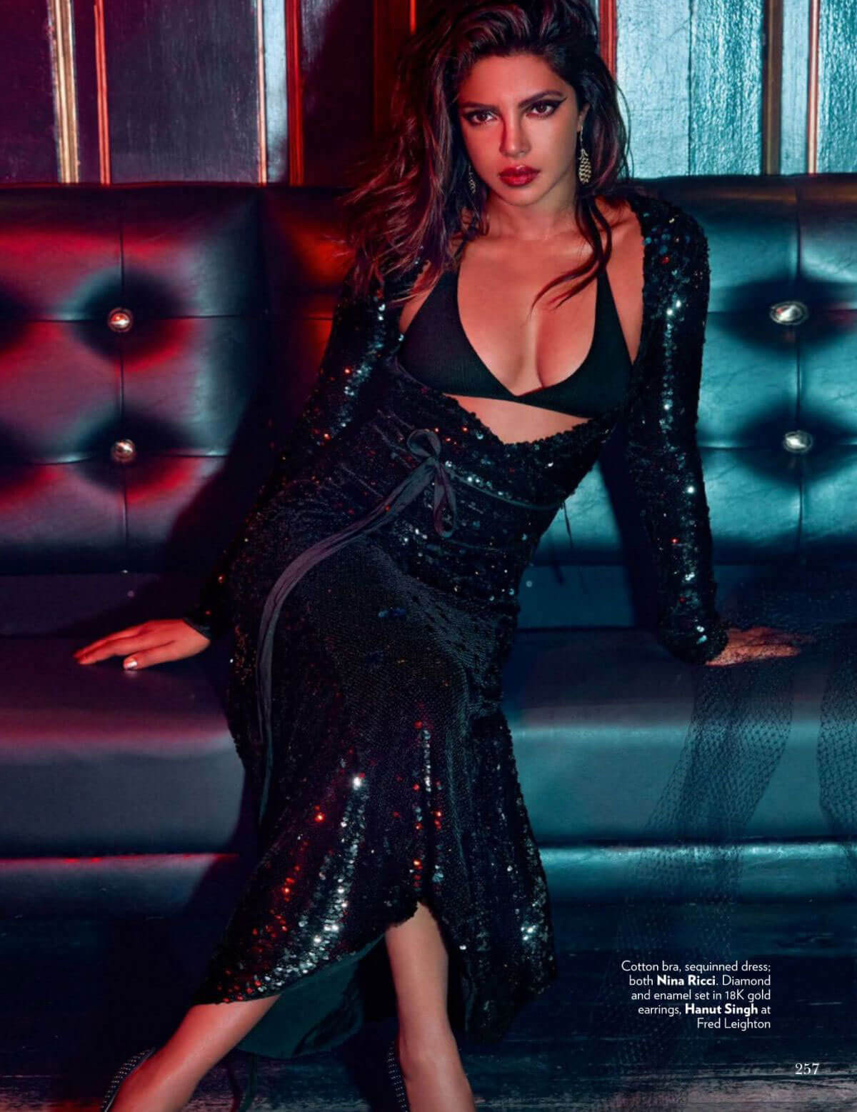 Priyanka Chopra Poses for Vogue Magazine India Photoshoot ...