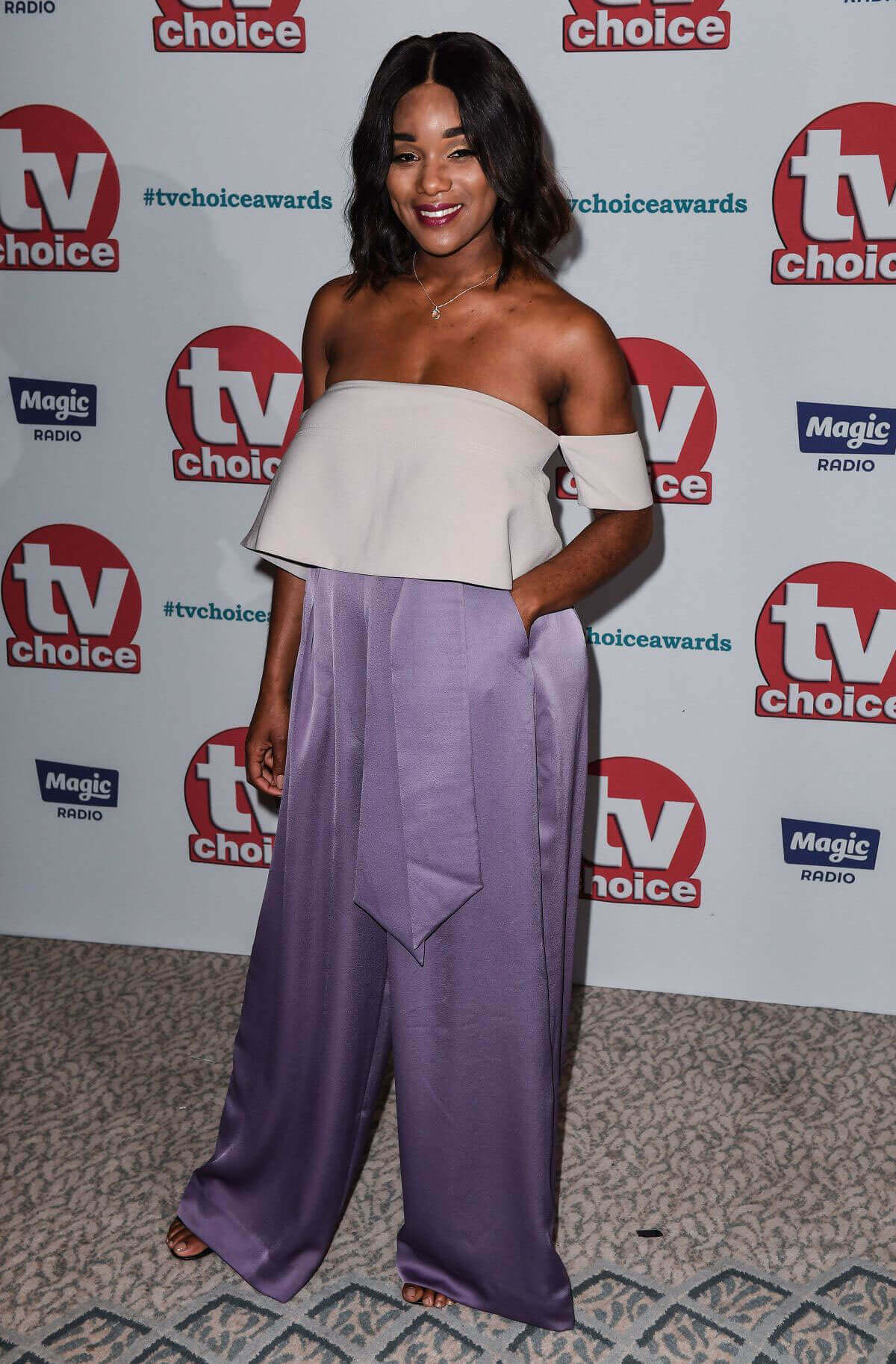 Rachel Adedeji Stills at TV Choice Awards 2017 in London