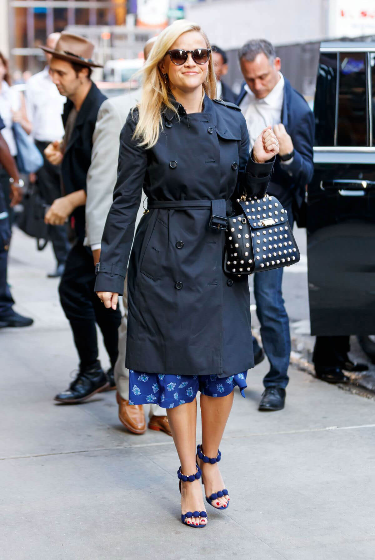 Reese Witherspoon Stills at Good Morning America in New York
