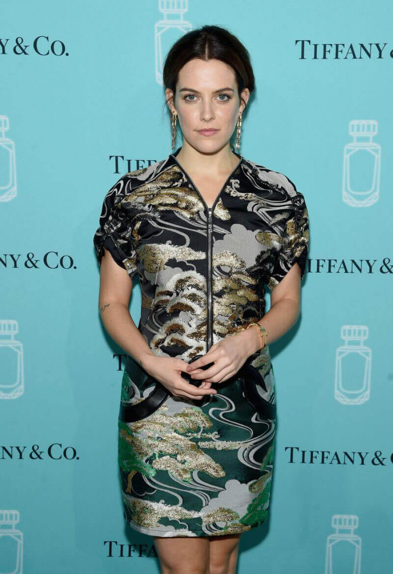 Riley Keough Stills at Tiffany & Co. Fragrance Launch in New York