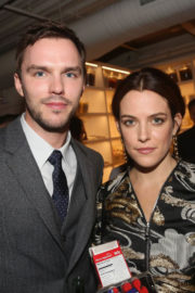 """Riley Keough with Nicholas Hoult at """"Rebel in the Rye"""" Movie Premiere in New York"""
