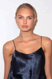 Romee Strijd Stills at E!, Elle & Img Host New York Fashion Week Kickoff Party