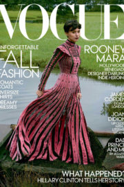 Rooney Mara Poses for Vogue Magazine US October 2017 Issue
