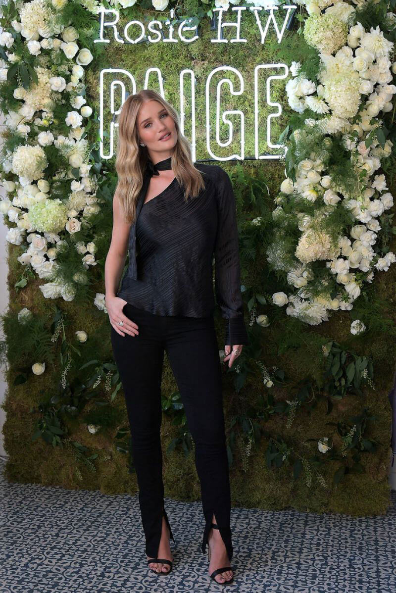 Rosie Huntington-Whiteley Stills at Rosie HW x Paige Fall Collection in Los Angeles