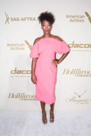 Samira Wiley Stills at Hollywood Reporter and Sag-aftra Nominees Night in Beverly Hills