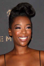 Samira Wiley Stills at Television Academy 69th Emmy Performer Nominees Cocktail Reception in Beverly Hills