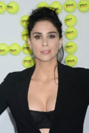 Sarah Silverman Stills at Battle of the Sexes Premiere in Los Angeles
