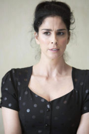 Sarah Silverman Stills on the Set of a Photoshoot in Hollywood