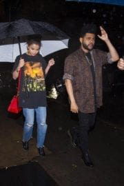 Selena Gomez and The Weeknd Stills Out for Dinner in New York