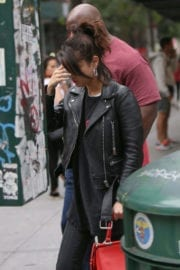 Selena Gomez and The Weeknd Stills Out Shopping in New York