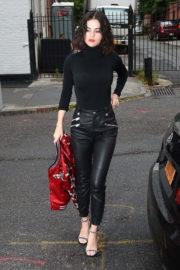 Selena Gomez Stills Arrives at The Weeknd's Apartment in New York