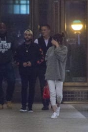 Selena Gomez with The Weeknd Stills Out for Dinner in New York