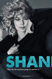 Shania Twain Poses in Country Update Magazine, October/November 2017