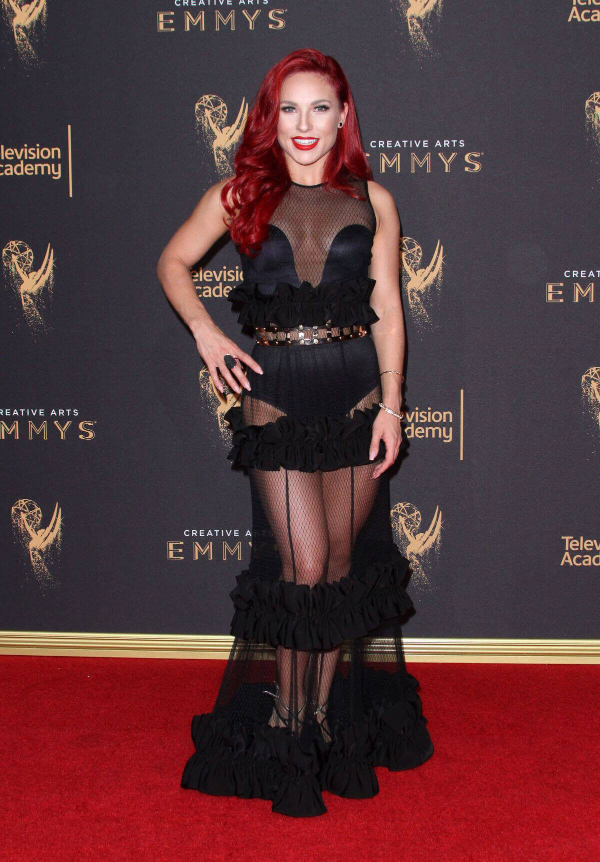 Sharna Burgess at Creative Arts Emmy Awards in Los Angeles
