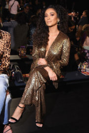 Shay Mitchell Stills at Anna Sui Fashion Show at NYFW in New York