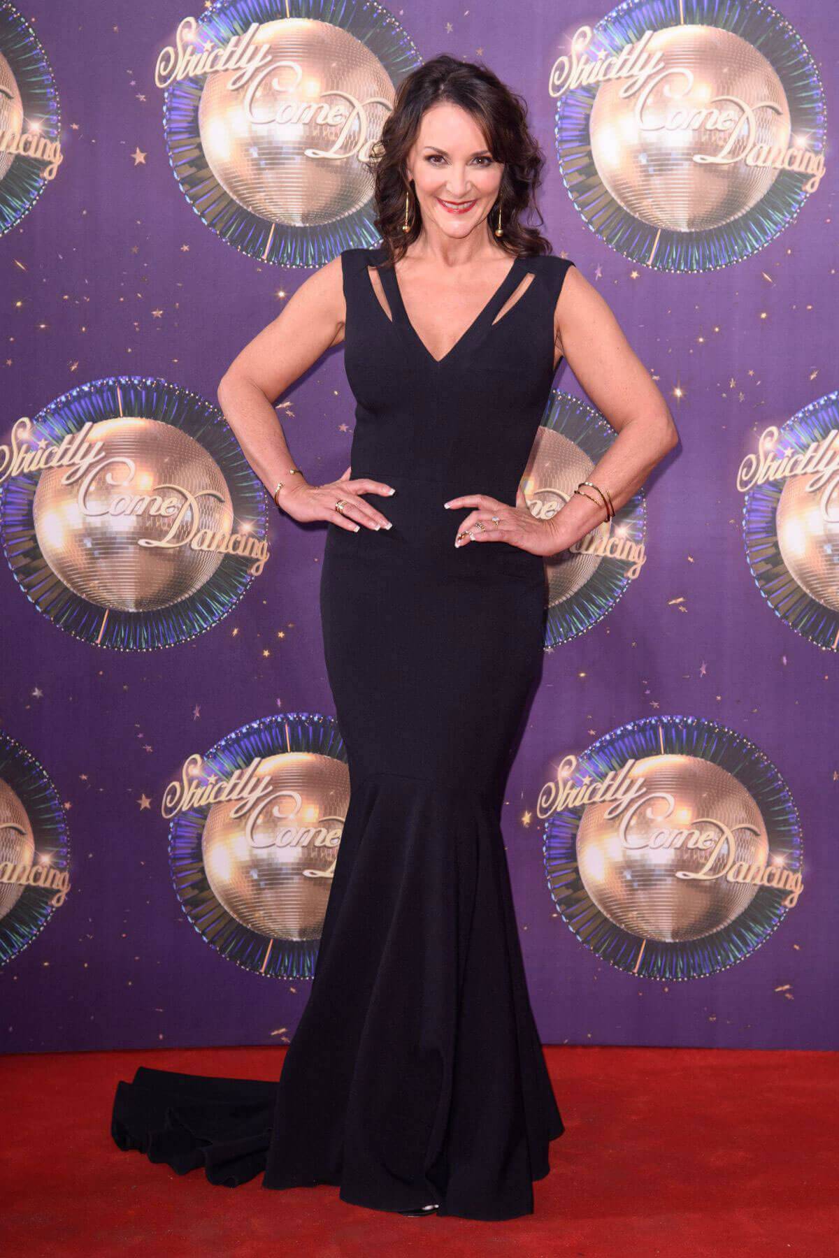 Shirley Ballas Stills at BBC Strictly Come Dancing 2017 Launch in London