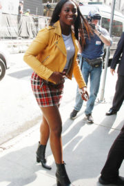 Sloane Stephens at Media Rounds to Discuss Her First Major Tennis Title in New York