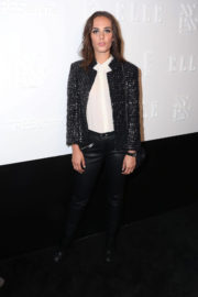 Sophie Auster Stills at E!, Elle & Img Host New York Fashion Week Kickoff Party