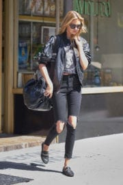 Stella Maxwell Stills Out and About in New York
