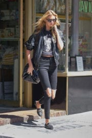 Stella Maxwell Stills Out and About in New York Photos