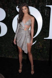 Taylor Hill Stills at Business of Fashion Celebrates #bof500 in New York