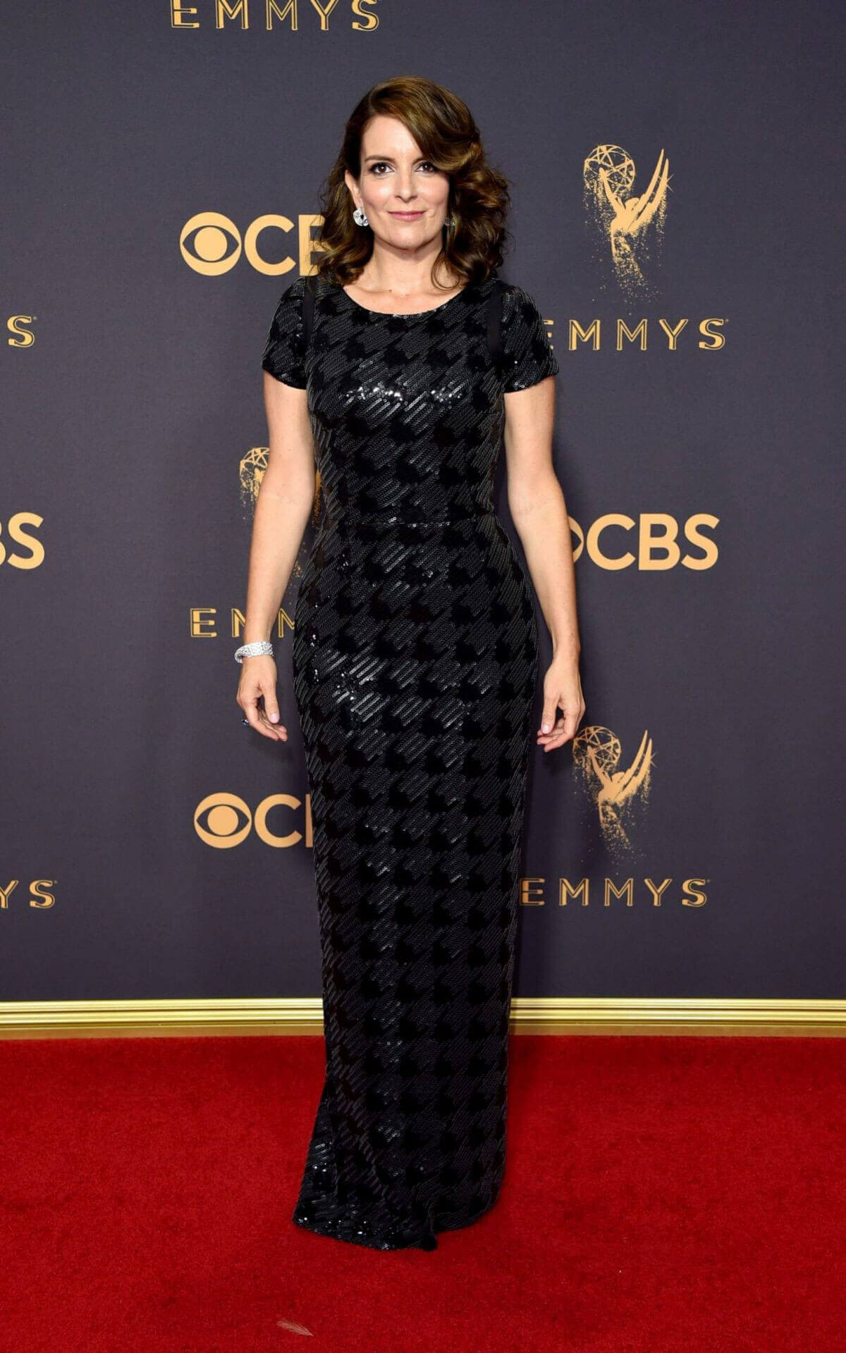 Tina Fey Stills at 69th Annual Primetime Emmy Awards in Los Angeles