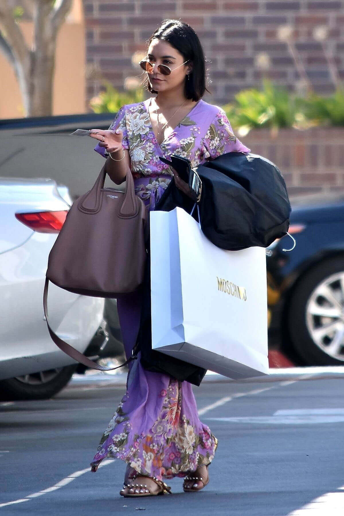 Vanessa Hudgens Stills Out Shopping in Beverly Hills