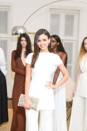 Victoria Justice Stills at Estee Lauder Celebrates: The Beauty of Fashion at New York Fashion Week