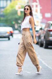 Victoria Justice Stills Out and About in New York