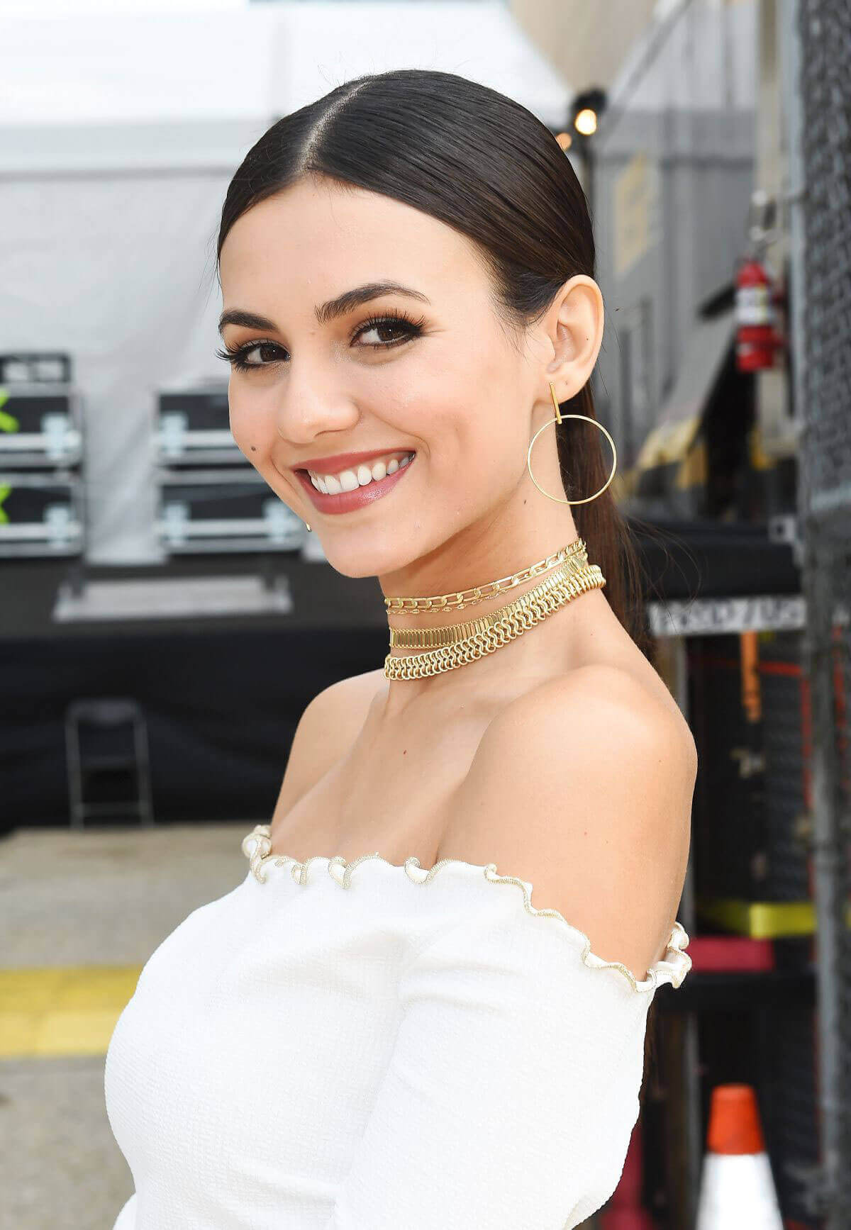 Victoria Justice Stills Out in New York at Fashion Week