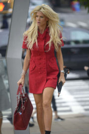 Victoria Silvstedt Stills Out and About in New York