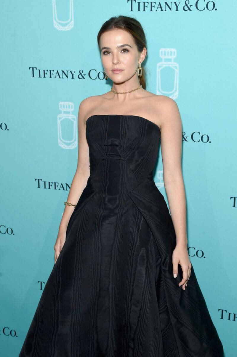 Zoey Deutch Stills at Tiffany & Co. Fragrance Launch in New York