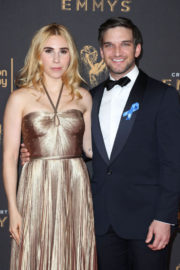 Zosia Mamet at Creative Arts Emmy Awards in Los Angeles