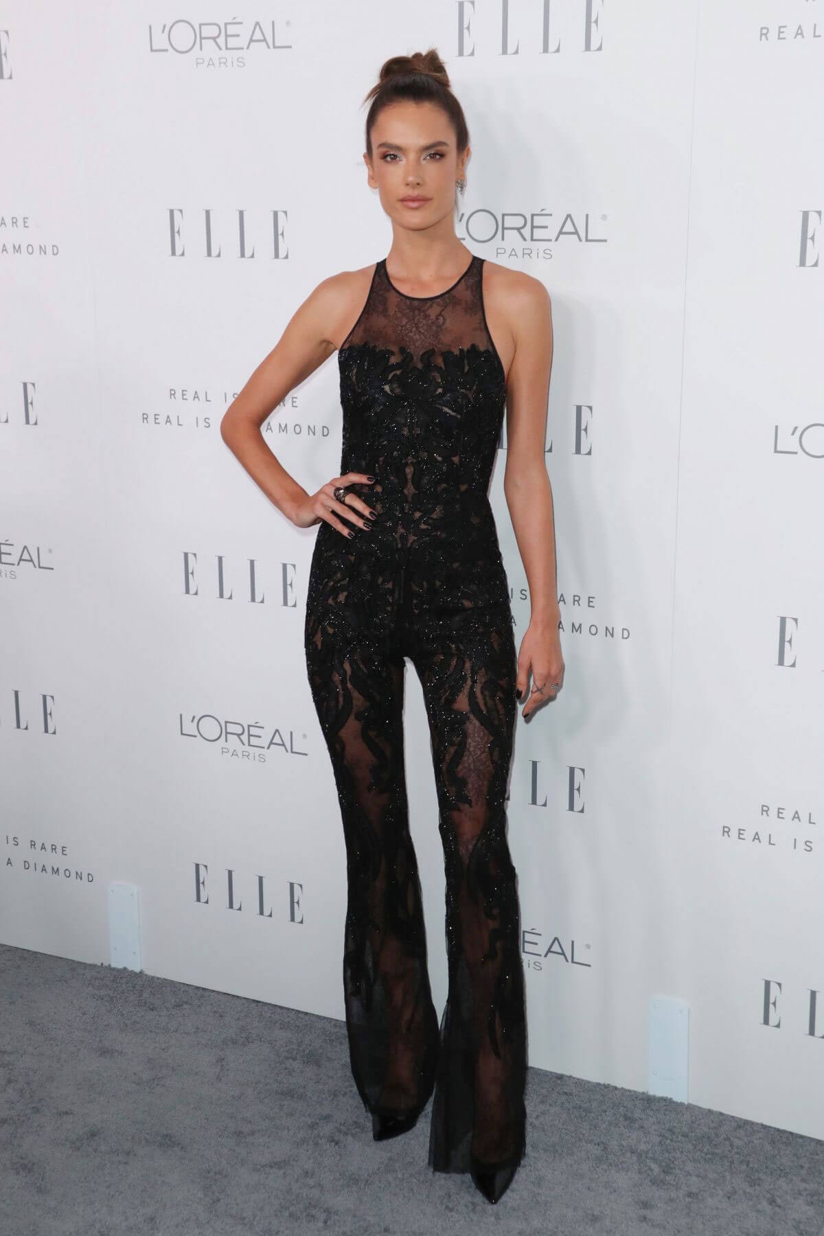 Alessandra Ambrosio Stills at Elle Women in Hollywood Awards in Los Angeles